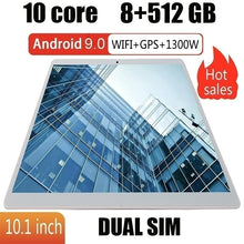Load image into Gallery viewer, 10.1 Inch 8GB+512GB Tablet MT6797 4G Dual SIM Card Phone Pad  4G Call Wifi Tablets PC Pad