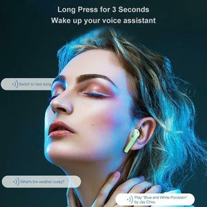 Bluetooth V5.0 Mini Sports Music Headset with Mic I12 TWS Earbuds Colorful Wireless Headphones