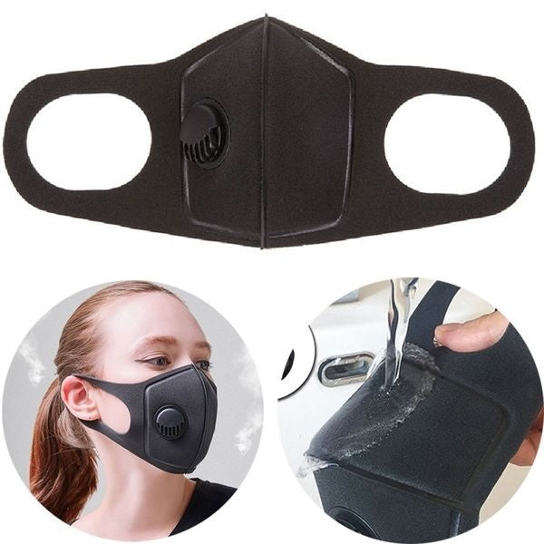 Fashion Dustproof Mask,1Pcs Military Grade Anti Air Dust and Smoke Pollution Mask with Adjustable Straps and a Washable Respirator Mask Made For Men Women and Kids