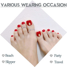 Load image into Gallery viewer, Adjustable Toe Ring  for Women
