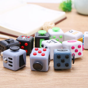 New Multicolor Flag 6 Sides Fidget Dice Toy Relieves Stress And Anxiety Cube For Children And Adults