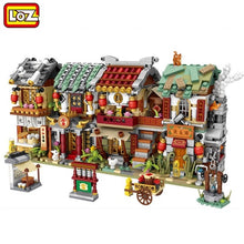 Load image into Gallery viewer, LOZ MINI Blocks Kids Building Toys Girls Puzzle Boy GIFT China town 1722 1723 1724 1725 1733 1734 no box)