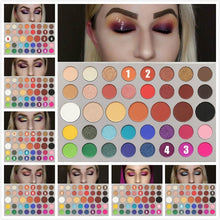 Load image into Gallery viewer, 4 Colors/ 39 Colors Eyeshadow Makeup Palette Multicolor Eye Shadow Pigment Waterproof Cosmetics for Women Girls