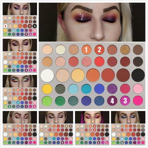 4 Colors/ 39 Colors Eyeshadow Makeup Palette Multicolor Eye Shadow Pigment Waterproof Cosmetics for Women Girls