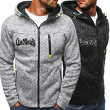 2020 Men's Fashion Gas Monkey Garage Zipper Hoodie Sweater Coat Casual Sports Pullover