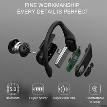 Load image into Gallery viewer, Style-Carry B10 Sports Bluetooth Headset Digital Display Hanging Ear Tws 5.0 Wireless 8000mAh Earphone