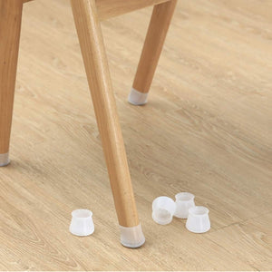 2/4/6/8/16 Pcs Furniture Silicon Protection Cover Chair Leg Caps Silicone Floor Protector Round Furniture Table Feet Cover, Anti-Slip Bottom Chair Pads - Prevents Scratches and Noise Without Leaving Marks