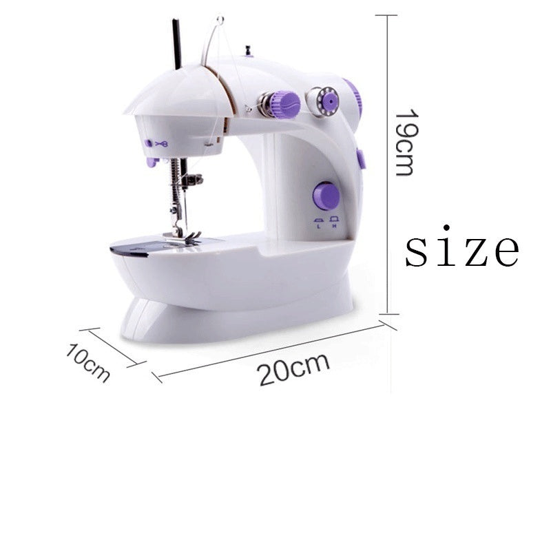 2020 Mini Automatic Dual Speed Double Thread Stitching Electric Pedal Sewing Machine
