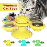 Windmill Cat Toy Turntable Funny Cat Interactive Toy Interactive Puzzle Training Windmill Ball