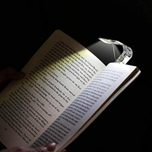 Bookmark Light Book Mark LED Reading Bright Flexible Nightlight Bookworm Gift for Your Reader, Botanical or Blank Create Your Own Cover t