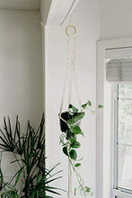 Load image into Gallery viewer, I Heart Kits DIY Macrame Wall Hanging Kit – Makes 3 Projects: 1 Macrame Plant Hanger, 1 Macrame Keychain & 1 Macrame Wall Hanging, Includes Cotton Cord 4mm (109 Yds) + Macrame Supplies