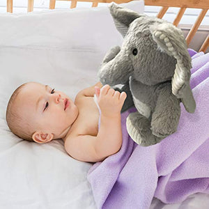 Elephant Tooth Fairy Plush Pillow with Tooth Holder Pocket for Boys Girls| Tooth Fairy Pillow Girl |Fairy Animals Plush Toy |Tooth Fairy Gift |ToothPillow Boys |A Keepsake Pouches for Girls/Boys 10''
