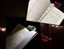 Load image into Gallery viewer, Bookmark Light Book Mark LED Reading Bright Flexible Nightlight Bookworm Gift for Your Reader, Botanical or Blank Create Your Own Cover t