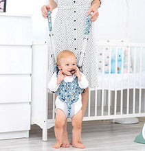 Load image into Gallery viewer, Radea Baby Walker - Safe Easy-Wearing Baby Walking Assistant - Toddlers Helper to Walk& Stand - Cool & Comfy Padded Baby Walking Harness - Adjustable Straps, 2-Handle Design for Mommy & Daddy