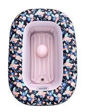 Load image into Gallery viewer, I Hatch and Herd Floral Inflatable Toddler Bathtub I Inflatable Baby Bathtub for Infants, Babies and Toddlers
