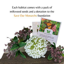 Load image into Gallery viewer, Butterfly Garden Kit | Butterfly House with Common Milkweed Seeds for Monarch Butterflies | Monarch Butterfly kit| Butterfly Habitat