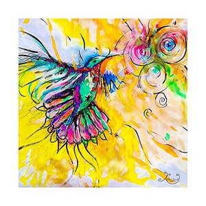 Hummingbird Diamond Painting by Elora Laird-Adults Crystal Art DIY Paint by Diamonds Kit