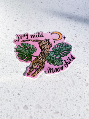 Autocollant ⭑ Stay Wild Moon Child