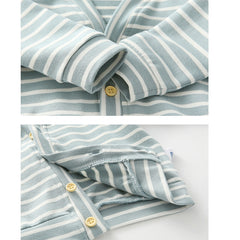 Baby Boys Autumn Striped Outerwear - babiesfamily