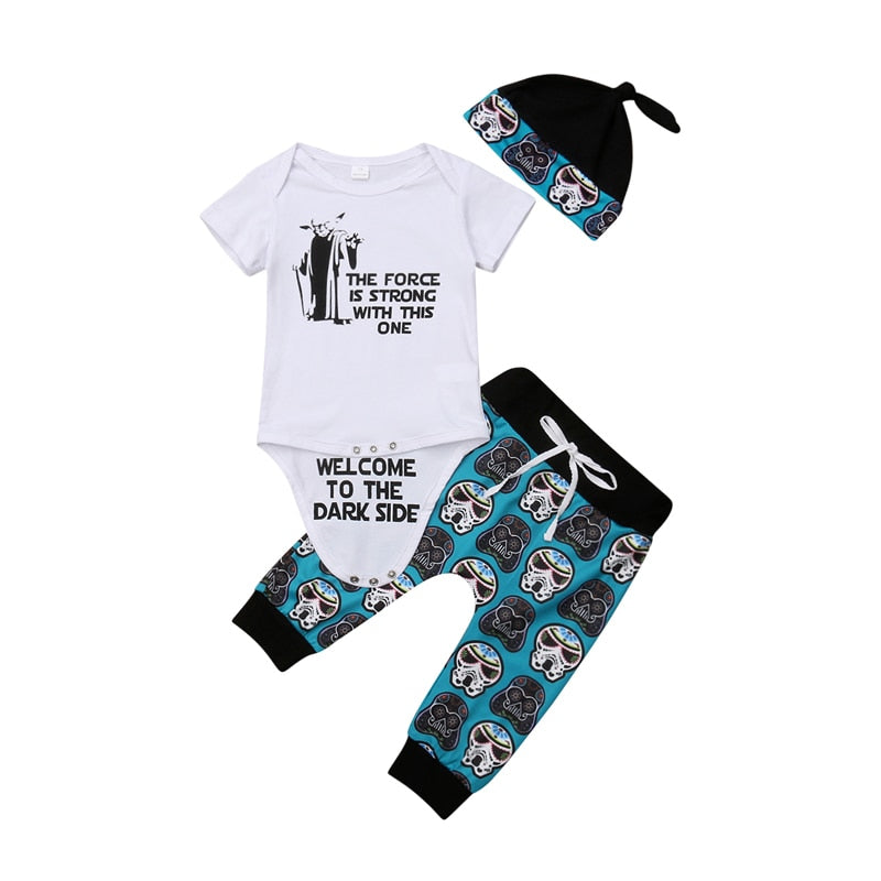 Baby Boy Clothes Set Short Sleeve - babiesfamily