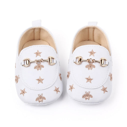 Baby Girl Cute Pentagram Pattern Shoes - babiesfamily