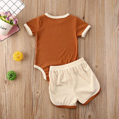 Baby Girls Cotton Outfits Sets - babiesfamily