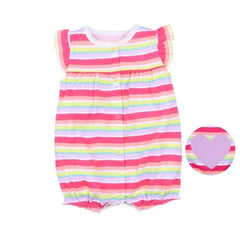Orangemom summer baby girl clothes one-piece jumpsuits baby clothing ,cotton short romper infant girl clothes roupas menina home - babiesfamily