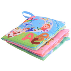 Baby Early Learning Educate Baby Toys Soft Animal Cloth Book - babiesfamily