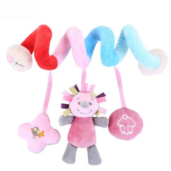 Toy Baby Stroller Comfort Stuffed Animal Rattle Mobile Infant Stroller Toys For Baby Hanging Bed Bell Crib Rattles Toys Gifts - babiesfamily
