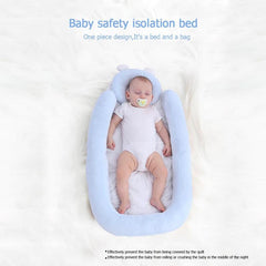 Portable Bed Cradle Soft Anti-rollover - babiesfamily