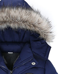 Fashion Baby Boys Thick Coat Padded Winter Jacket - babiesfamily