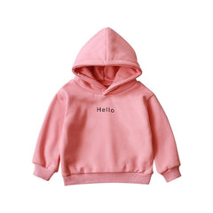 Long-Sleeve Hoodies Autumn Tops Outerwear - babiesfamily