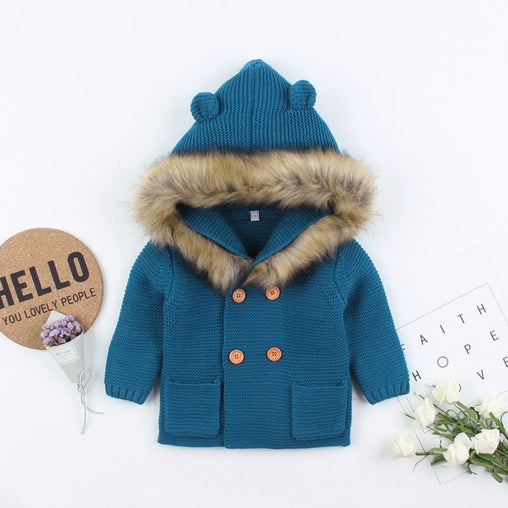 Baby Boys Jacket Autumn Casual Outerwear Coat - babiesfamily