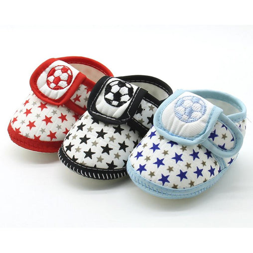 Newborn Infant Shoes Star Soft Warm - babiesfamily