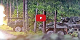 US Army and NATO Allies COMBINED ARMS Live Fire