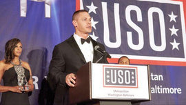 Metro Annual Awards Dinner- John Cena honored at USO