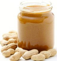 healthy snacks peanut butter