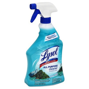 Lysol Disinfectant All-Purpose Cleaner, Fresh Mountain Scent, 32 Oz. / EPA N Approved