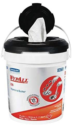 WypAll Dry Reusable Industrial Wipes Pop-Up, 13