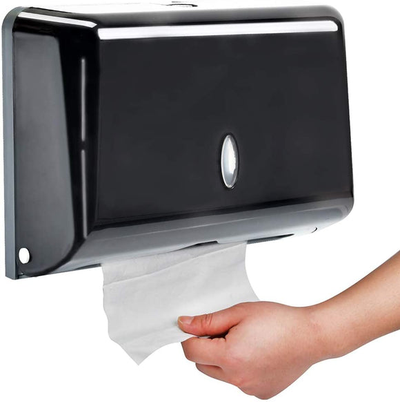 Wall Mount Paper Towel Holder C-Fold/Multifold Paper Towel Dispenser