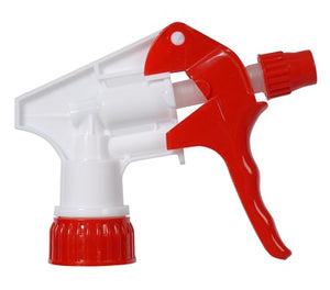 "Continental Multi-Purpose Pro Spray Bottle Trigger, 9 3/4"" Dip Tube, Red/White"