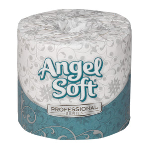 Angel Soft Professional Series by GP PRO Premium 2-Ply Embossed Toilet Paper, 450 Sheets Per Roll, 80 Rolls Per Case