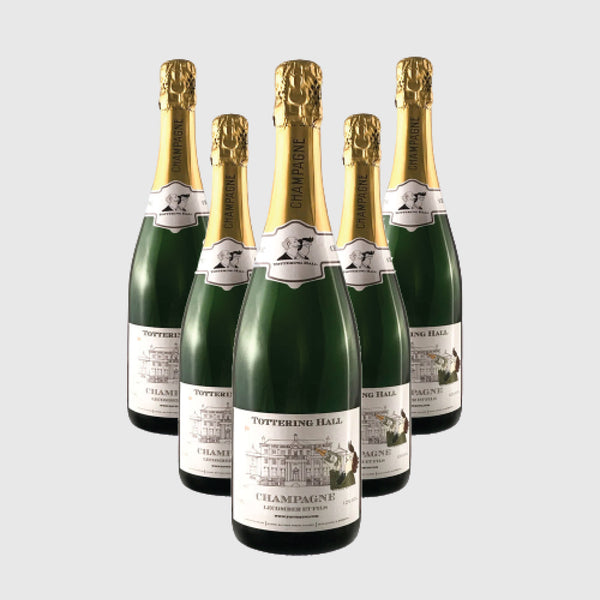 Tottering Hall NV champagne bottle, 750ml