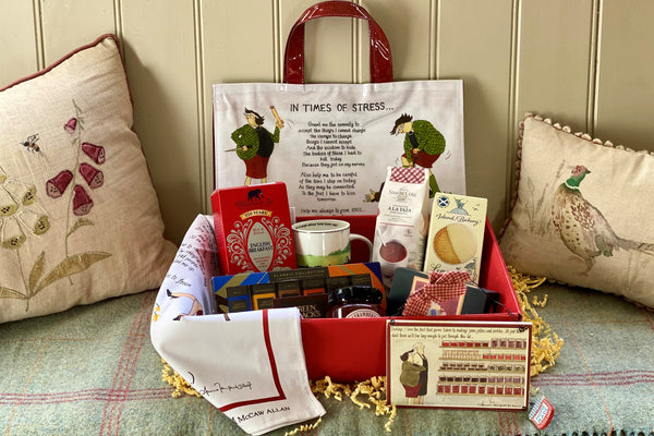 Frisky Partridge gift hamper - Mother's Cupboard for Mother's Day