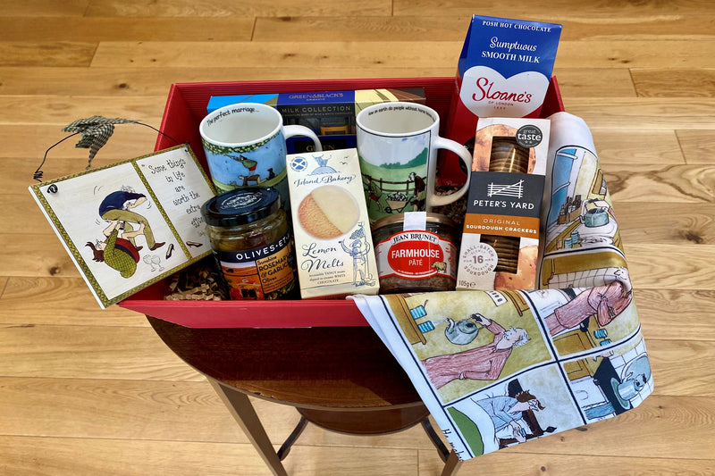 Frisky Partridge Pick Me Up Hamper gift box