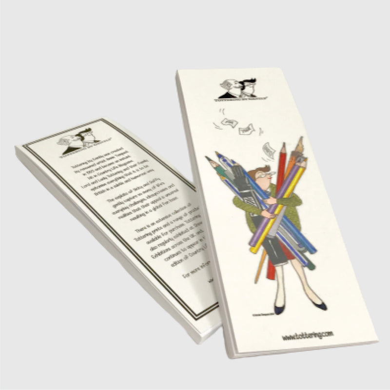 Tottering by Gently Shopping List Jotter pad