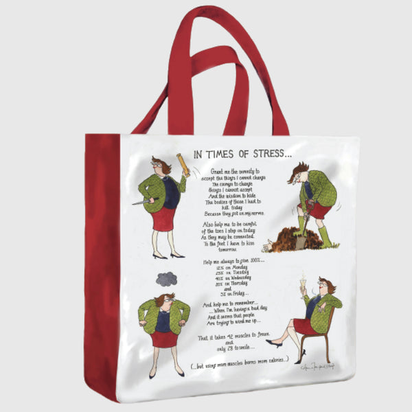Tottering by Gently pvc medium shopper bag