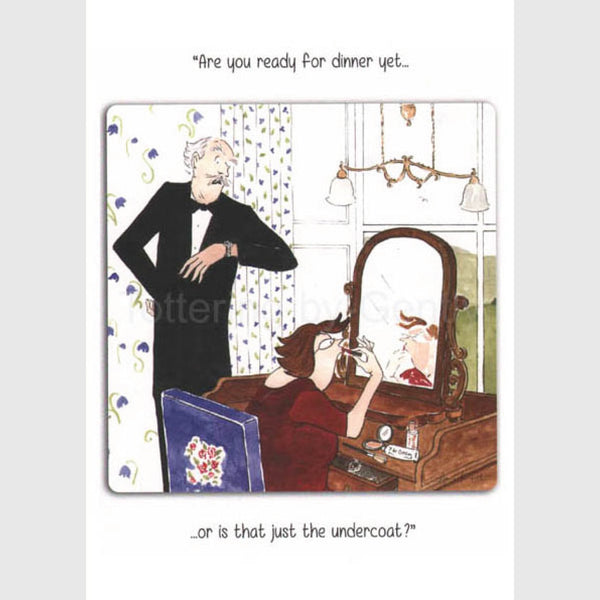 Are you ready | Tottering by Gently Card