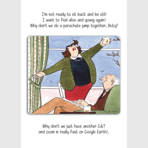 Another G&T | Tottering by Gently Greeting Card