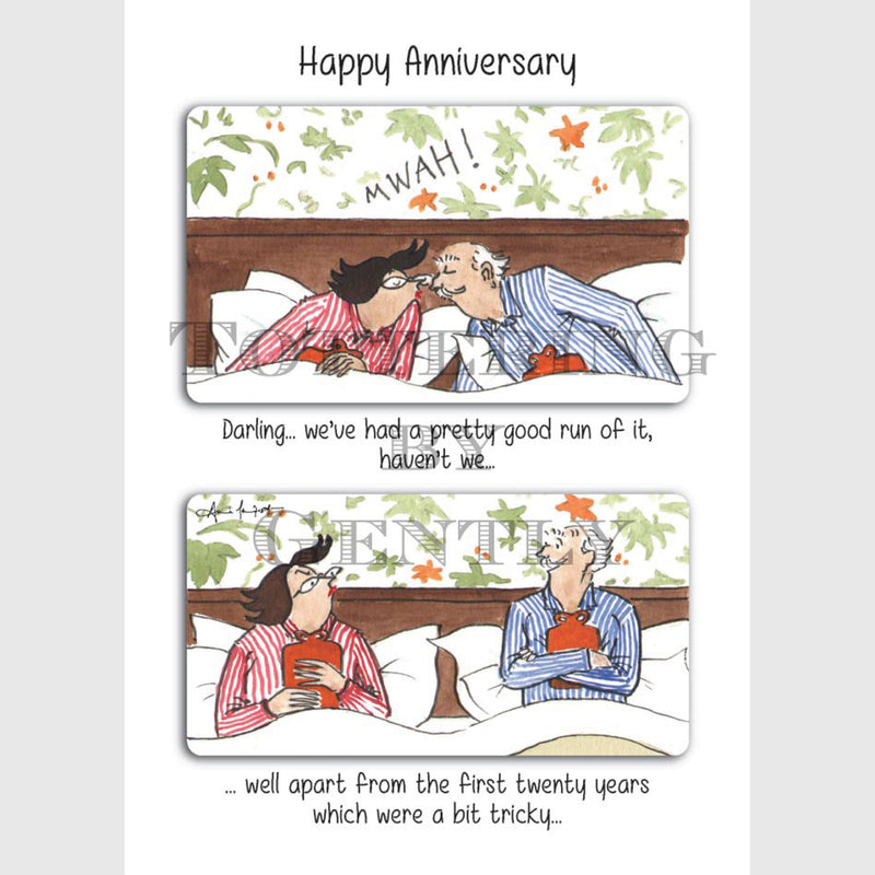 First 20 years, Happy anniversary - Anniversary greeting card
